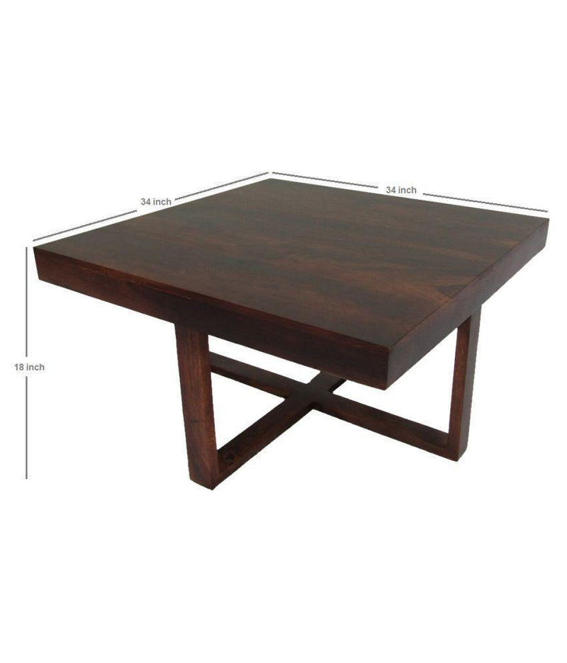 Wooden coffee table Set 4+1