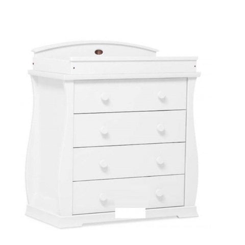 Zeelo 4 Drawer Dresser with Changing Table Top