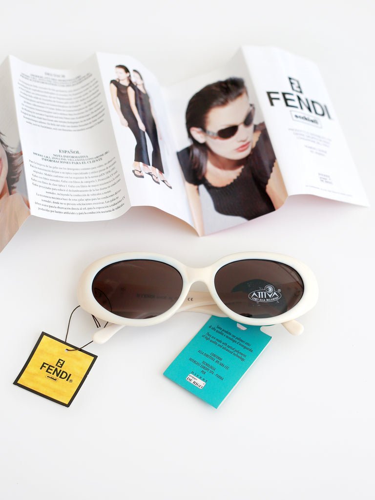 Vintage Fendi Metallic Sunglasses