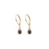 Onyx Drop Clip Earring