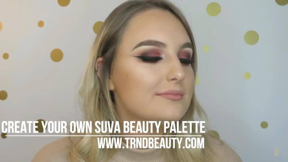 VIDEO - Burgundy Festive Liner Eye - SUVA BEAUTY
