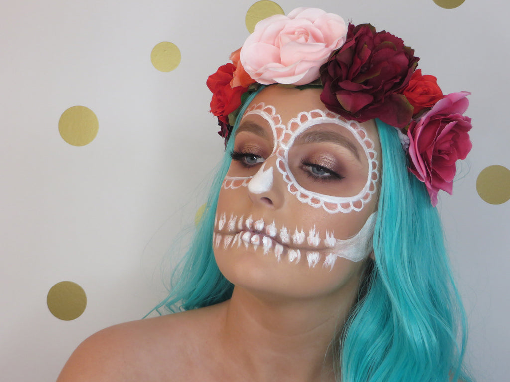 VIDEO - Trnding Series - Halloween - Rose Gold Sugar Skull