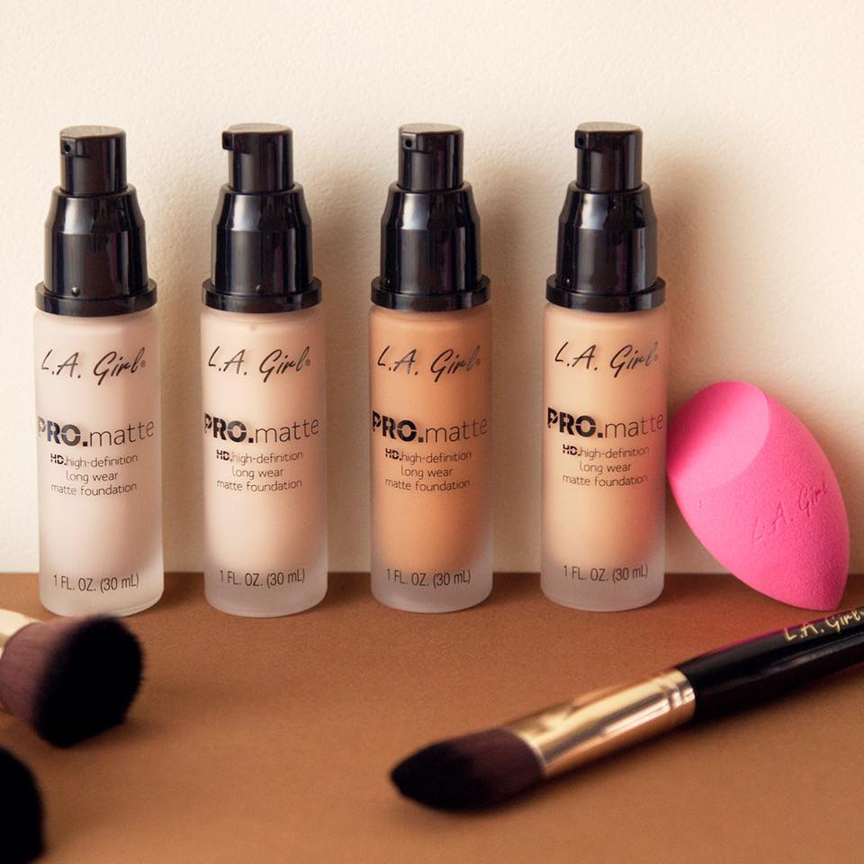 LOOK WHAT'S COMING...L.A. Girl Pro.Matte Foundation