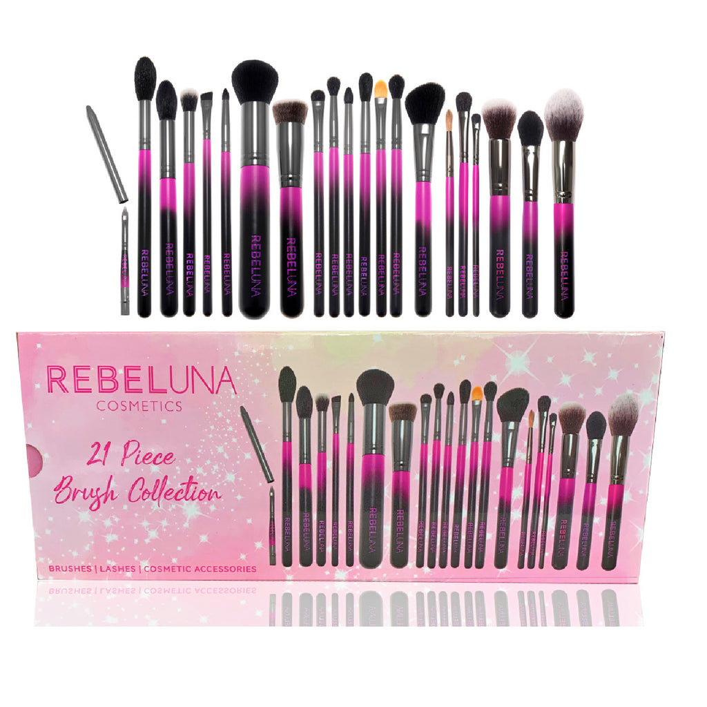 Rebeluna Cosmetics 21pc Brush Collection