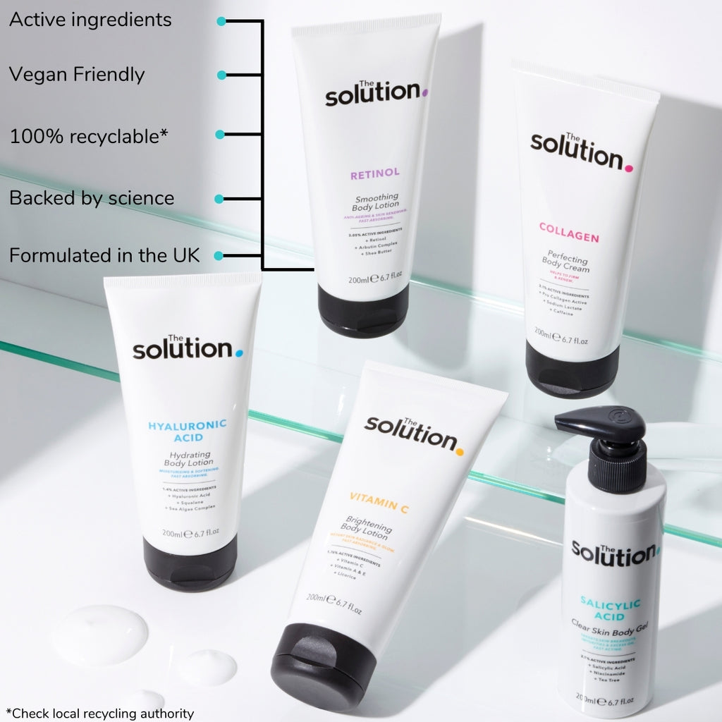 THE SOLUTION SALICYLIC ACID CLEAN SKIN BODY GEL