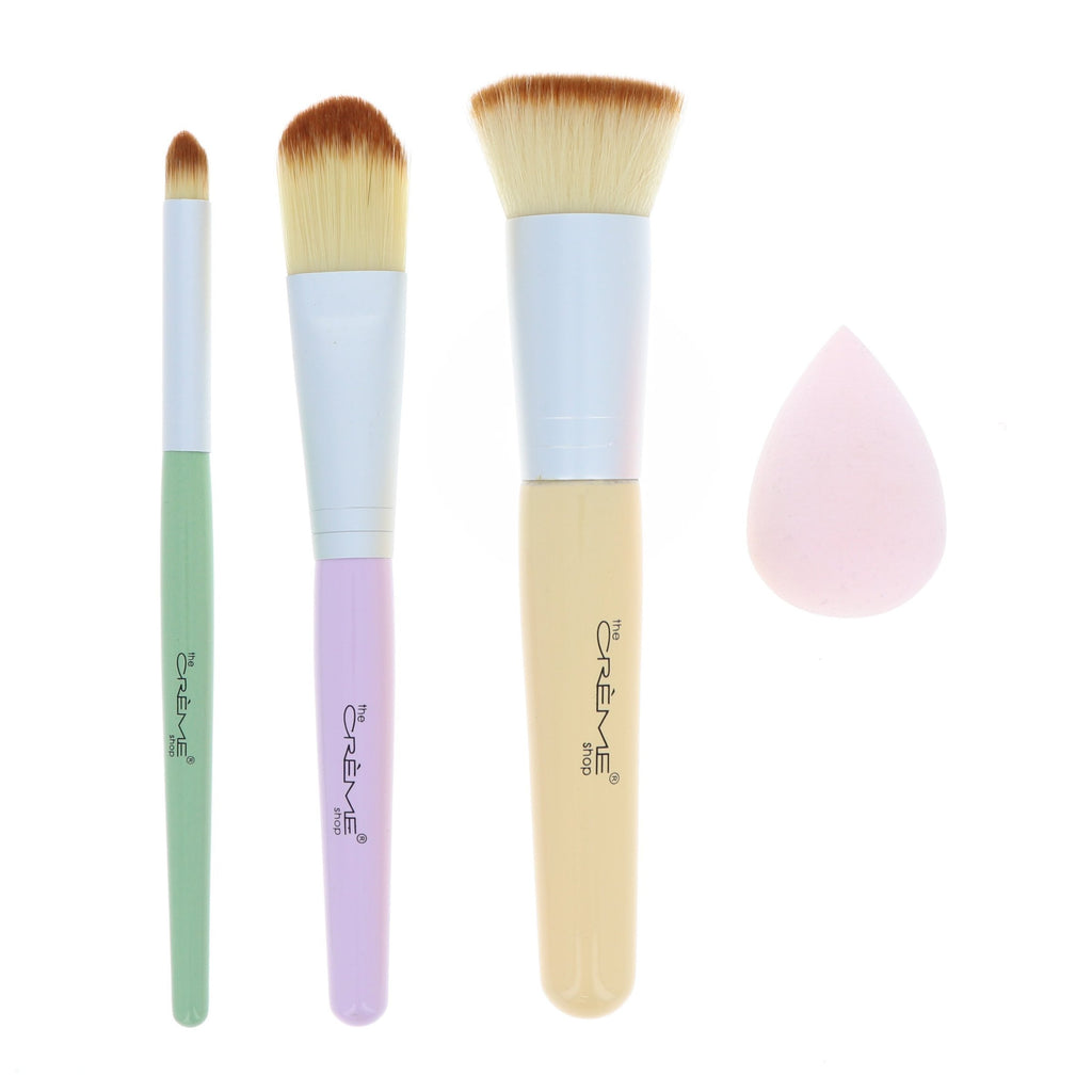 The Créme Shop - 3 Piece Brush Set - Face Corrector