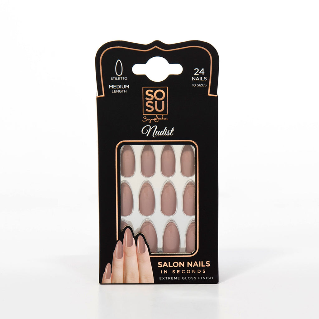 SOSU False Nails Nudist