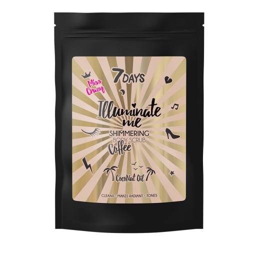 7DAYS - Illuminate me Shimmering Body Scrub - Miss Crazy