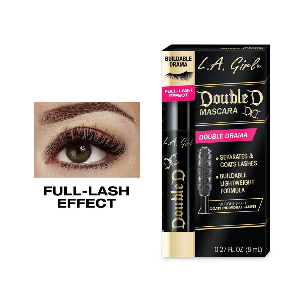 L.A. GIRL COSMETICS DOUBLE D MASCARA