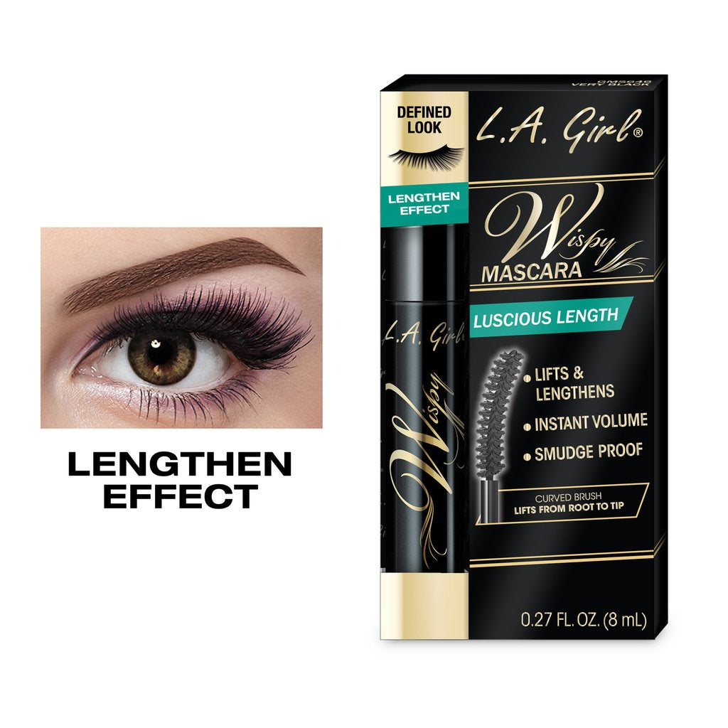 L.A.Girl Cosmetics Wispy Lash Mascara Very Black
