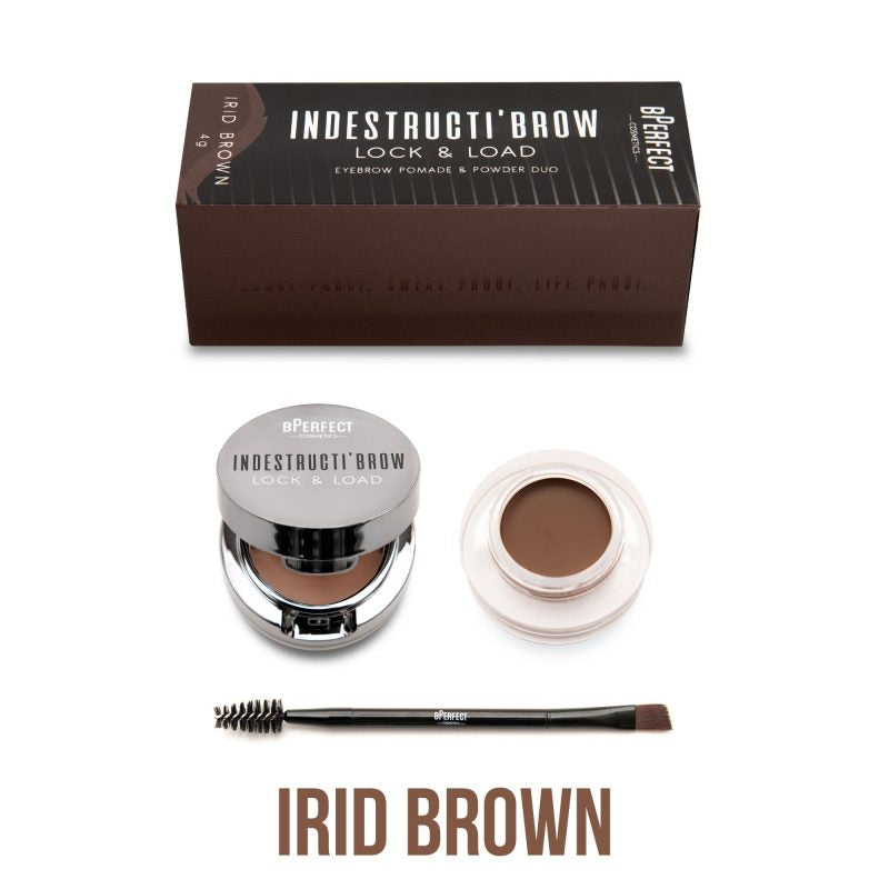 bPERFECT INDESTRUCTI'BROW LOCK & LOAD EYEBROW POMADE & POWDER DUO