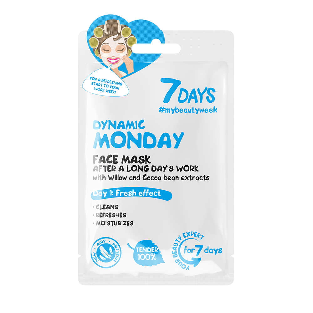 7DAYS  - Face Mask  - Dynamic Monday