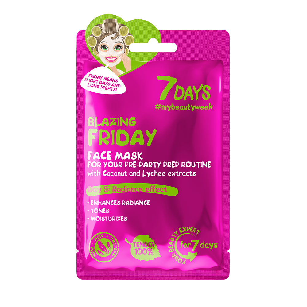7DAYS  - Face Mask  - Blazing Friday