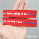 Wine / Water tag
