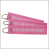 Kiss me before flight Tag