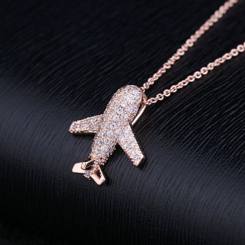 Necklace / Charm airplane