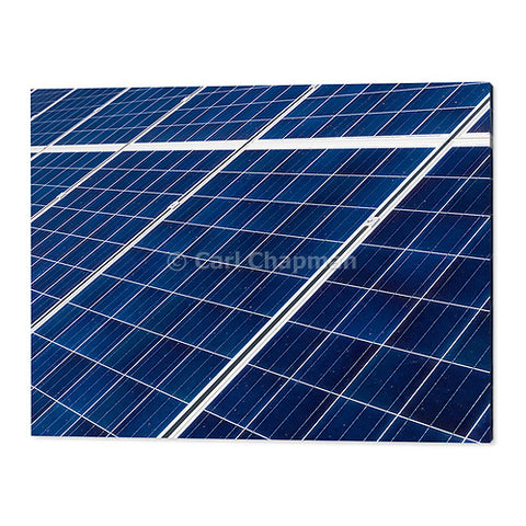 1858 solar panel electricity energy array wall art photo print