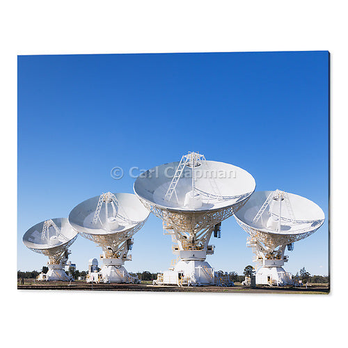 1720 Radio telescope microwave parabolic dish antenna array acrylic wall art photo print
