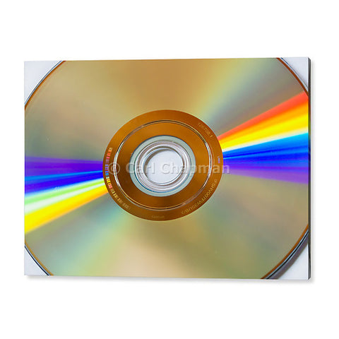 1521 DVD disk light refraction acrylic wall art photo print