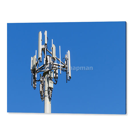 1311 3 sector cellular telecom communications antenna tower acrylic wall art photo print