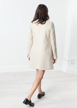 Tessuto Jacket in Cream