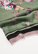 Floral Cashmere Scarf