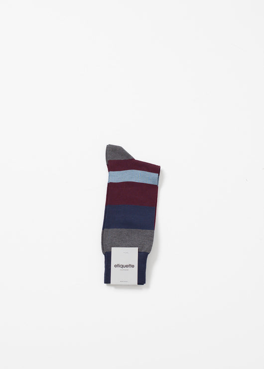 London Stripe Sock