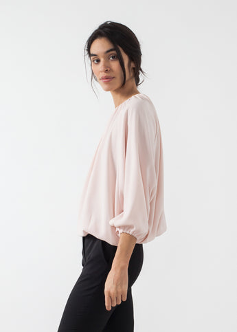 Bubble Peasant Top