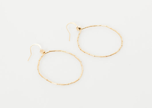 Roberta Hoop Earrings