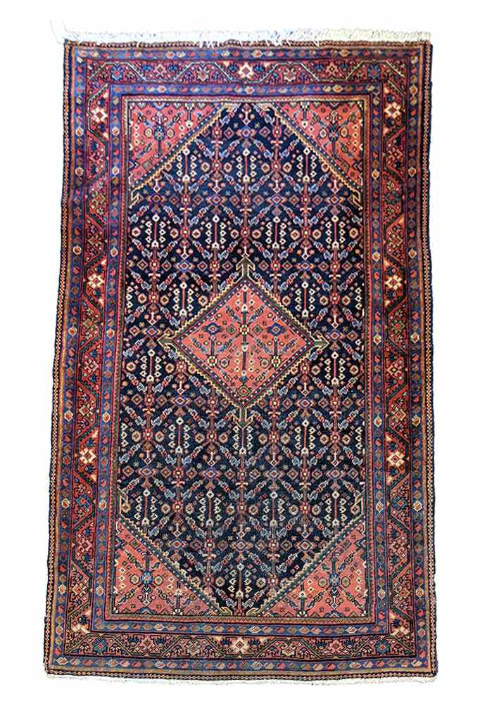 202 x 125 cm old malayer rug (OM0443)