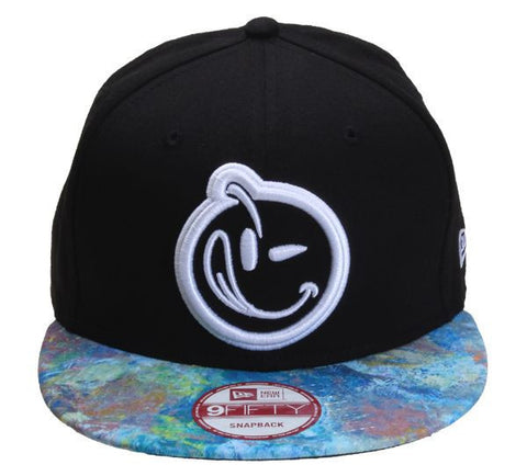 Yums x New Era 'Painters Palette' Snapback - Black / Blue