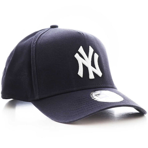 New Era NY Yankees A-Frame 940 Trucker Cap - Washed Black
