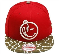 Yums x New Era Giraffes Ass Snapback - Red