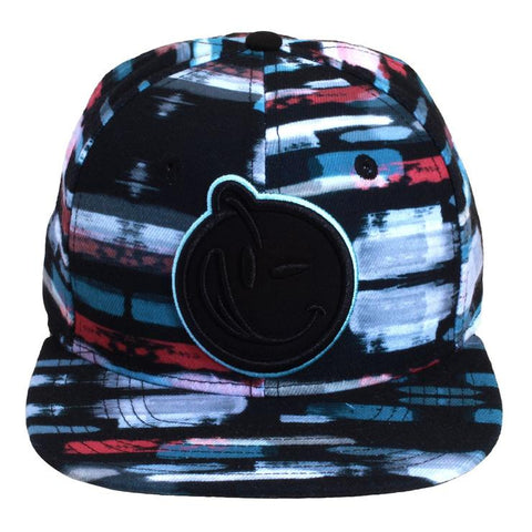Yums Strokes Classic Outline Snapback - Sky Blue