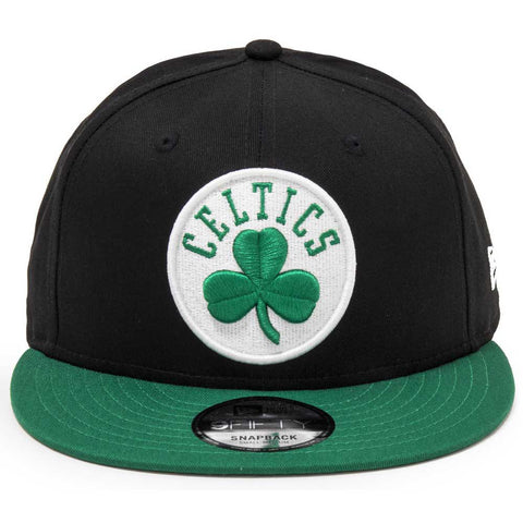 New Era Boston Celtics 950 Snapback Cap - Black