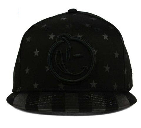 Yums x New Era 'Star Spangled' 9Fifty Snapback - Black