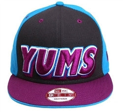 Yums x New Era '2 Panel' Snapback - Teal / Purple