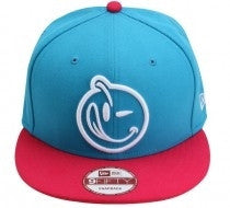 Yums x New Era Classic 'Face' Snapback - Blue / Pink