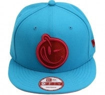 Yums X New Era Stripes Snapback - Blue / Pink