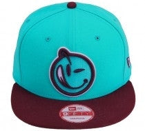 Yums X New Era Classic 'Outline' Snapback - Purple / Blue