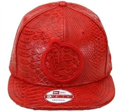 Yums X New Era 'Classic Outline Croc' Snapback - Red