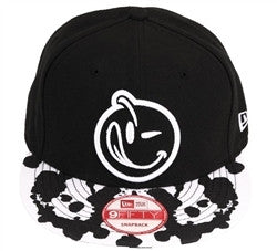Yums X New Era 'Rorschach' Snapback - Black / White