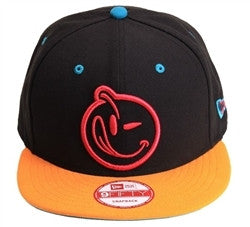 Yums X New Era 'Classic' Snapback Black/Orange/Aqua/Pink