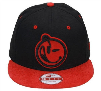 Yums X New Era 'Classic' Snapback - Red / Black