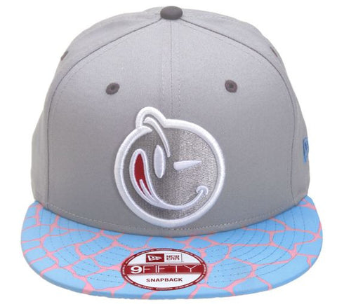 Yums x New Era Giraffes Ass Snapback - Grey