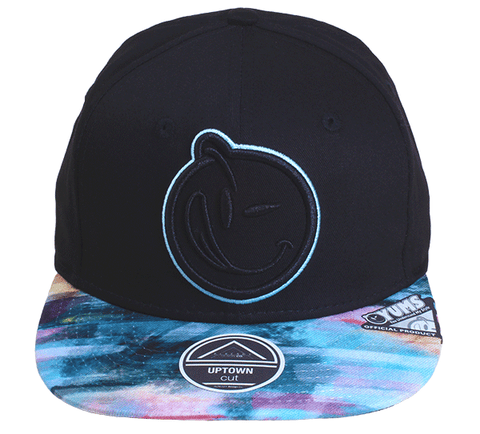 Yums Paint Brush Snapback - Black
