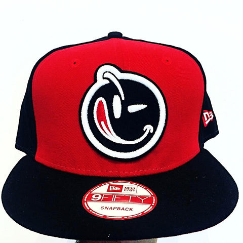 Yums x New Era '2 Panel' Snapback - Red /Black