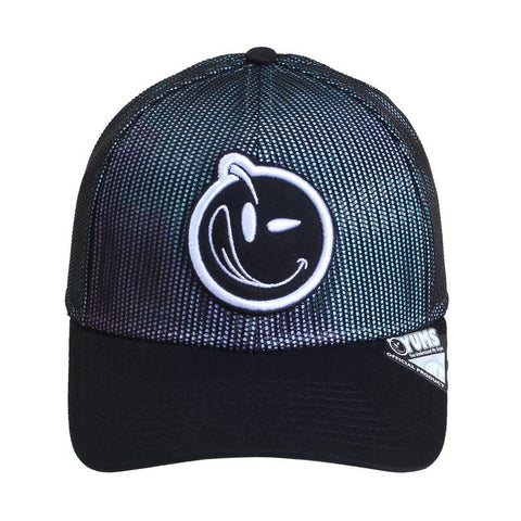 YUMS 'Classic Outline' Trucker Cap -  Black /  Multi
