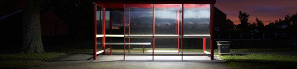 Lighting bus shelters