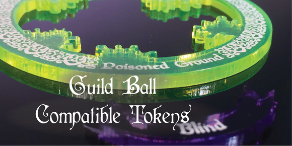 Guild Ball Tokens - Compatible with Guild Ball